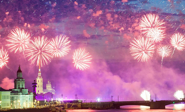noches blancas en San Petersburgo, Rusia