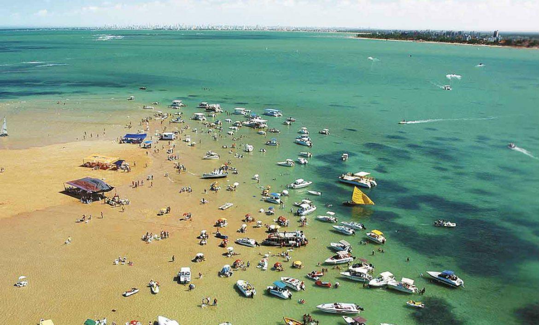 La Isla brasileña que sólo existe 20 días al mes